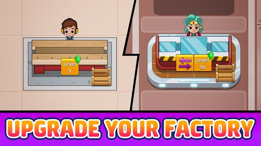 Code Triche Idle Factory Tycoon - Magnat d'entreprise apk mod screenshots 2