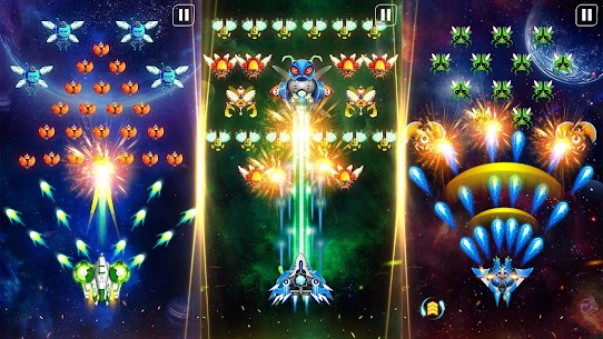 Space Shooter: Alien vs Galaxy Attack (Premium) Apk Mod + OBB/Data for Android. 7