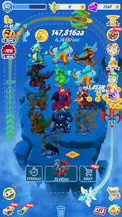 Dragons Evolution – Best Merge Idler🐉 2.1.11 Apk + Mod 1