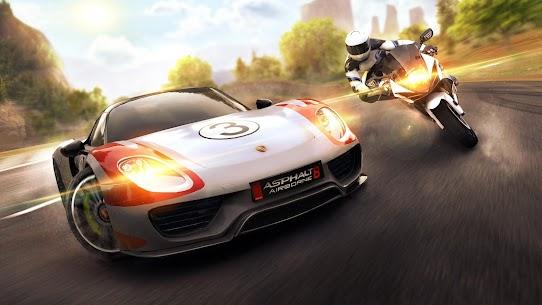 Asphalt 8 hack mod APK Airborne Racing game-Download Free 1