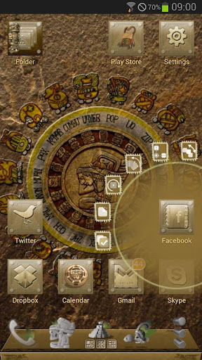 Next Launcher Mayan Theme For PC Windows (7, 8, 10, 10X) & Mac Computer Image Number- 5