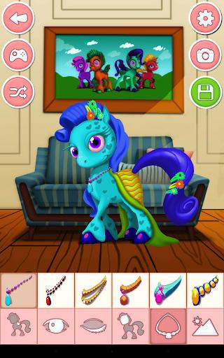 Unicorn & Pony Dress up Games 4.0 screenshots 11
