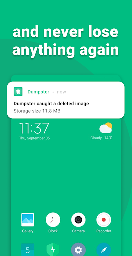 Dumpster - Recover Deleted Photos & Video Recovery  Screenshots 4