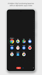 Zone Launcher - One Swipe Edge Launcher and Drawer Screenshot