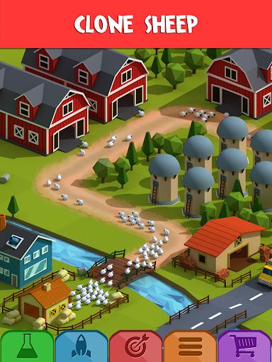 Tiny Sheep Tycoon Games u2013 Idle Wool apkpoly screenshots 13