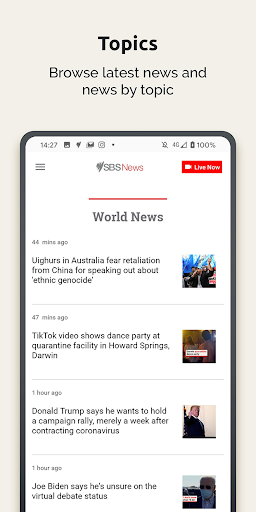 SBS News  screenshots 6