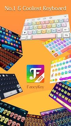 FancyKey Keyboard - Emoji, GIFのおすすめ画像1
