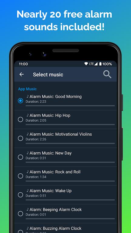 Alarm Clock Beyond - Talking Alarm, Radio & Music  poster 5