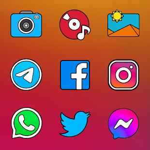Crispy HD - Icon Pack Screenshot