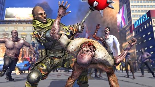 Zombie Army Dead War Shooting MOD APK (GOD MODE) 4