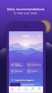 Sattva  Meditation App Download For Pc (Install On Windows 7, 8, 10 And  Mac) 1