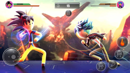Stickman Dragon Hero Fighter  screenshots 13