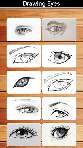How to Draw Eyes Step by Step  Screenshots 1