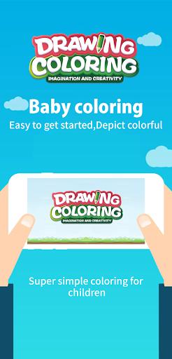Drawing Coloring:Imagination And Creativity android2mod screenshots 5