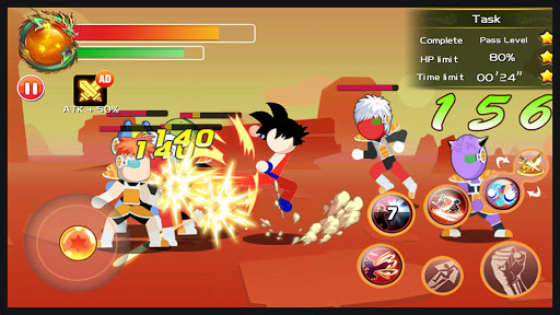 Code Triche Ultimate Stickman Battle: Legendary Z Fighters APK MOD (Astuce) screenshots 1