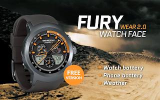 Fury Watch Face