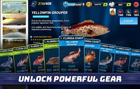 "Download Fishing Clash popular simulation game ""Fishing Battle"" Android + mod 4"