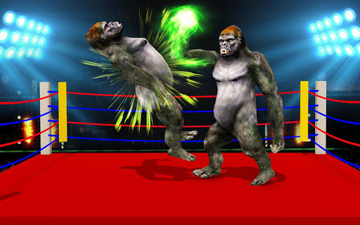 Wild Gorilla Ring Fighting:Wild Animal Fight 0.3 screenshots 6