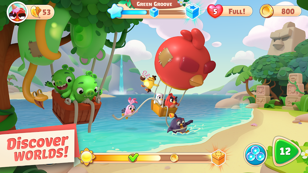 Angry Birds Journey  poster 1
