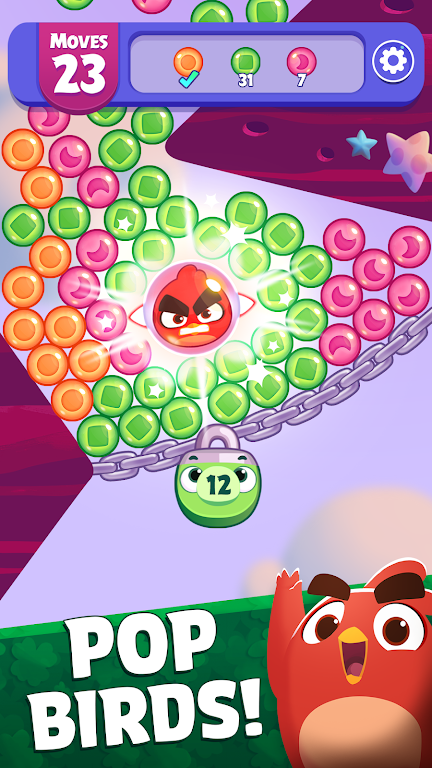 Angry Birds Dream Blast - Bubble Match Puzzle  poster 0
