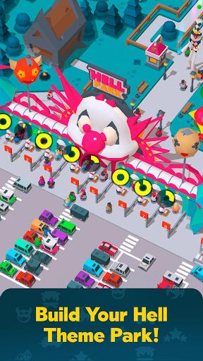 Télécharger Hell Park - Tycoon Simulator APK MOD  (Astuce) screenshots 1