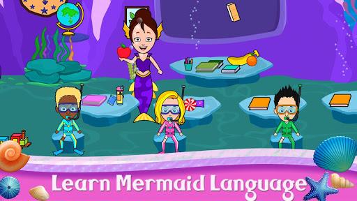 My Tizi Town - Underwater Mermaid Games for Kids 1.0 Screenshots 3