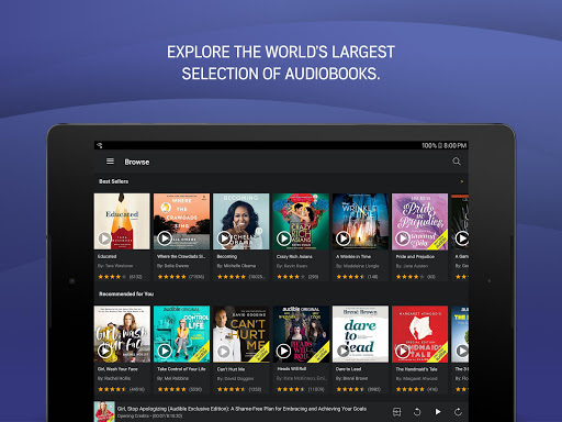Audible: audiobooks, podcasts & audio stories 2.65.0 Screenshots 8