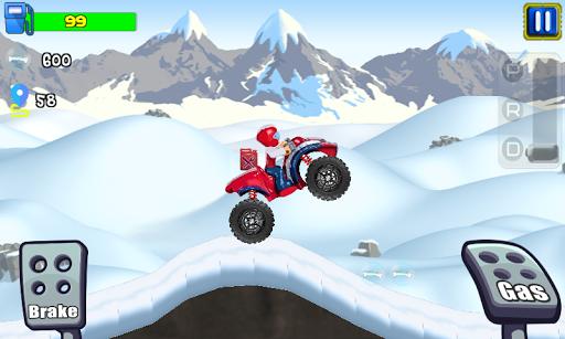 paw ryder atv climb racing screenshot 3