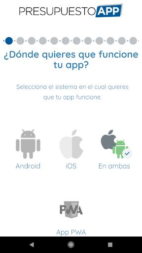 Presupuesto App  screenshots 2