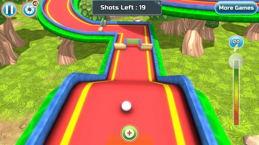 Mini Golf Rivals - Cartoon Forest Golf Stars Clash  screenshots 4