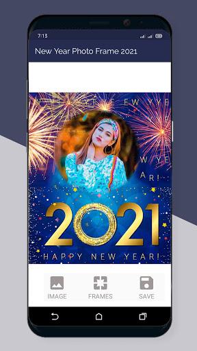 Happy New Year Photo Frame 2021  Screenshots 6