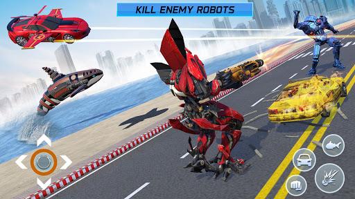 Mega Robot Games: Flying Car Robot Transform Games modavailable screenshots 2