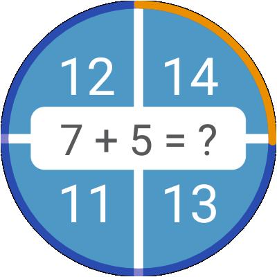 Math games: arithmetic, times tables, mental math  Screenshots 13