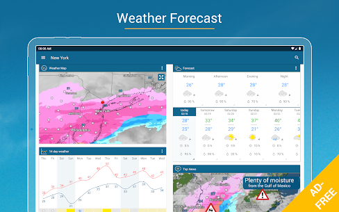 Weather & Radar USA Mod Apk- Winter alerts (Paid/Mod Extra) 10