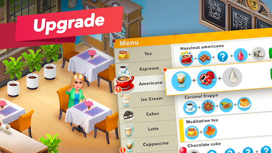 My Cafe — Restaurant game Mod Apk (Unlimited Money/Crystals/VIP 7) 2021.5 6