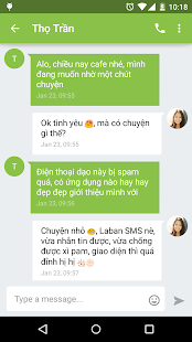 Laban SMS: spam blocker