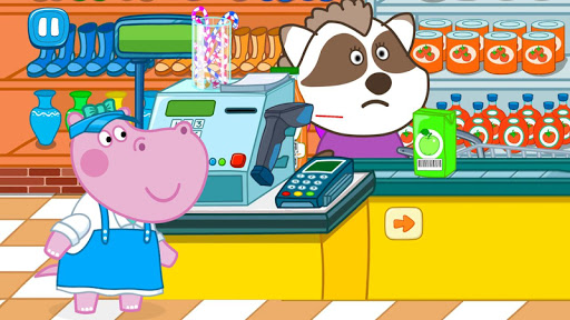 Cashier in the supermarket. Games for kids  screenshots 17