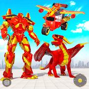 Tuk Tuk Rickshaw Dragon Robot Transform Robot Game
