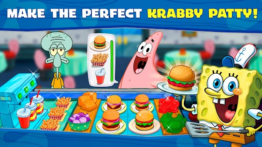 Spongebob: Krusty Cook-Off APK MOD Hackeado (Monedas Ilimitadas) 2