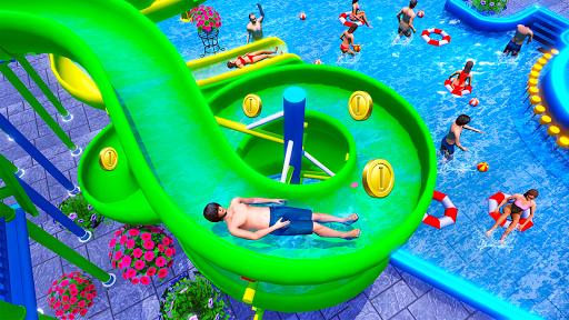 Water Sliding Adventure Park - Water Slide Games apkmartins screenshots 1