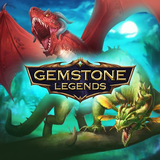 Gemstone Legends - Epic fantasy match-3 puzzle RPG