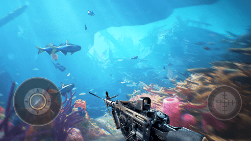 Fishing Hunter - Ocean Shooting Simulator  screenshots 8