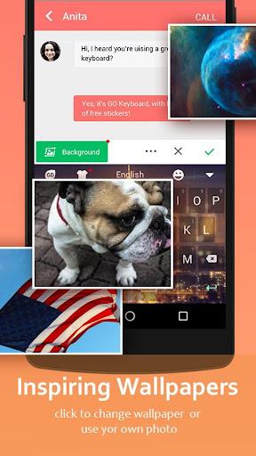 GO Keyboard - Cute Emojis, Themes and GIFs  Screenshots 6