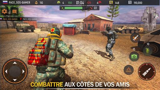 Télécharger Striker Zone: 3D Jeux De Guerre Tireur Online  APK MOD (Astuce) screenshots 1