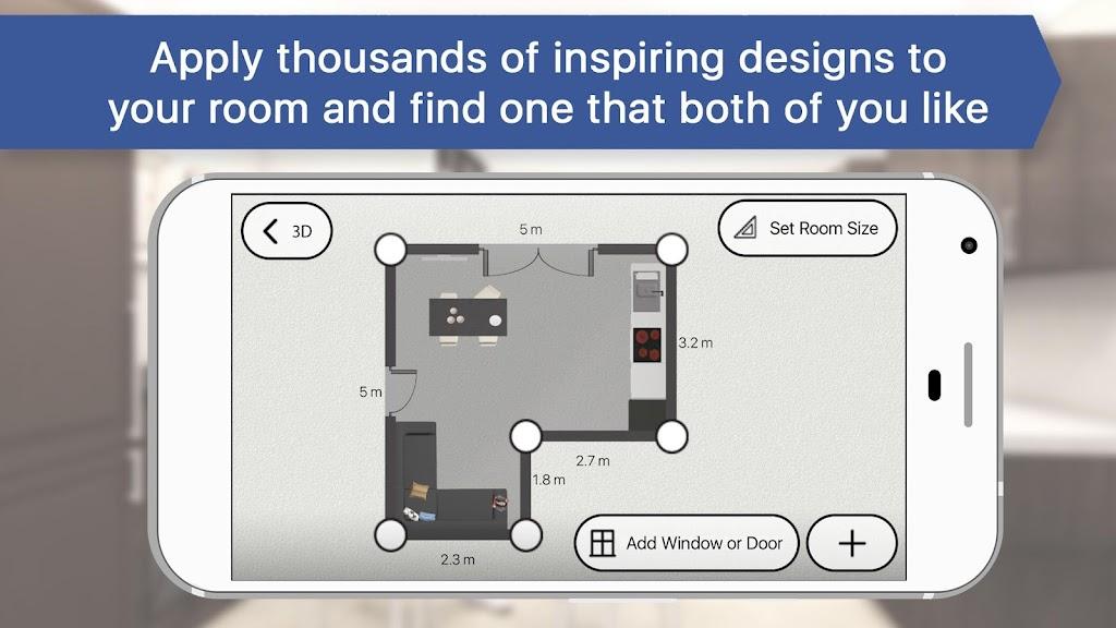 Room Planner: Home Interior & Floorplan Design 3D poster 3