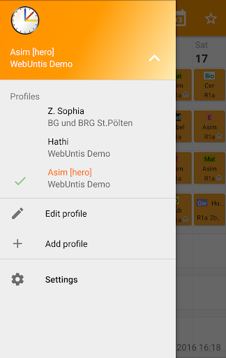 Untis Mobile 4.9.1 Screenshots 4