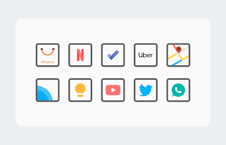 White Sweet Edge - Icon Pack 1.5 (Patched)