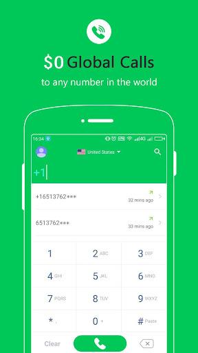 Free Calls - International Phone Calling App  Screenshots 1