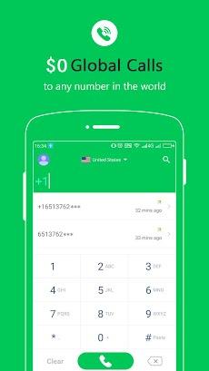 Free Calls - International Phone Calling Appのおすすめ画像1