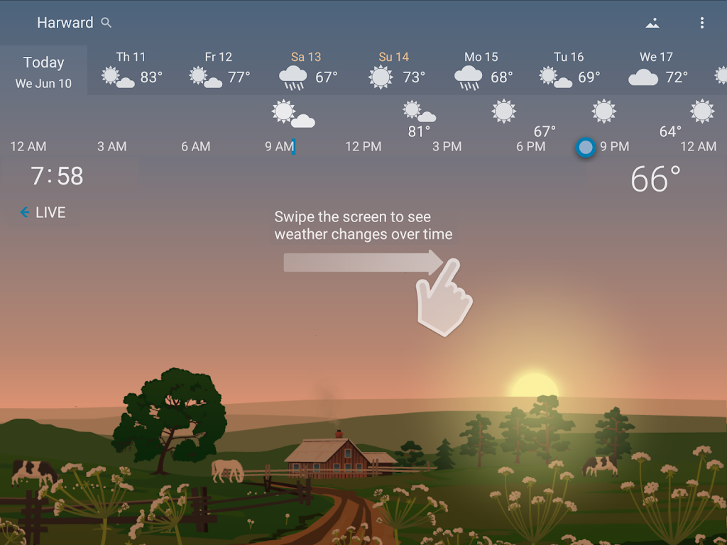 YoWindow Weather - Unlimited poster 8